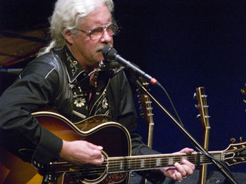 Arlo Guthrie concert the Colonial Theatre, Pittsfield, MA