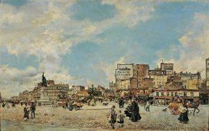 Place Clichy - Giovanni Boldini