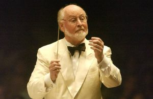 John Williams conducts the Boston Pops' Film Night at Tanglewood Aug. 14, 2010.