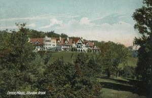 Shadowbrook built 1893 for Anson Phelps Stokes; current site of Kripalu Yoga Center.