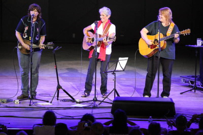 Joan Baez and the Indigo Girls at Tanglewood