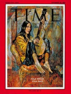Joan Baez cover of Time magazine