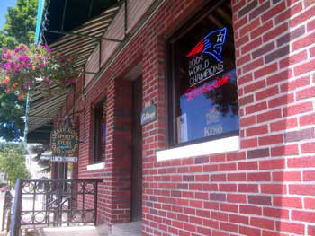 Locker Room Sports Bar in Lee, MA