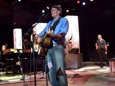 James Taylor sings How Sweet It Is at Tanglewood