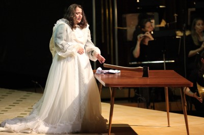 Lizzie Borden Opera performed Ozawa Hall, Tanglewood July 31, 2014