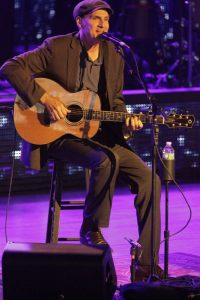 James Taylor performing at Tanglewood, 7.4.15 (Hilary Scott)