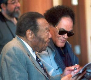 Jay McShann and Lousiana Red at 2003 Tanglewood Jazz Festival