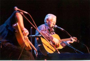 Doc Watson at the Mahaiwe Theatre, Gt. Barrington, March 30, 2002