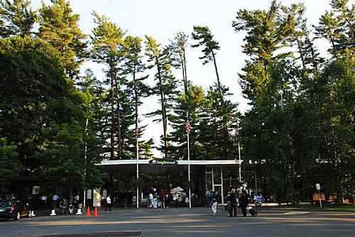 Tanglewood gate - main entrance, Lenox, MA