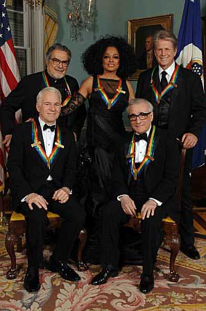 Leon Fleisher and Kennedy Center honorees