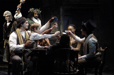 Cast of A Christmas Carol at Berkshire Theatre Festival
