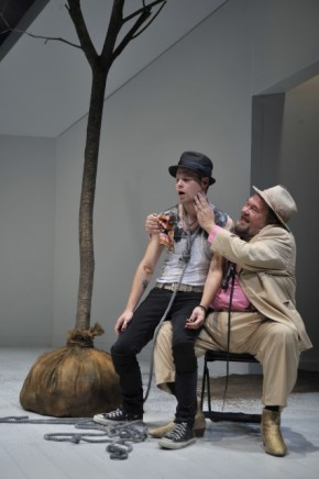 Randy Harrison and David Schramm in Berkshire Theatre Festival's Waiting for Godot.