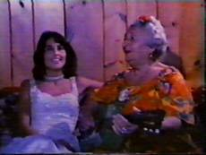 VJoan Baez and Mama Frasca at the Dream Away Lodge