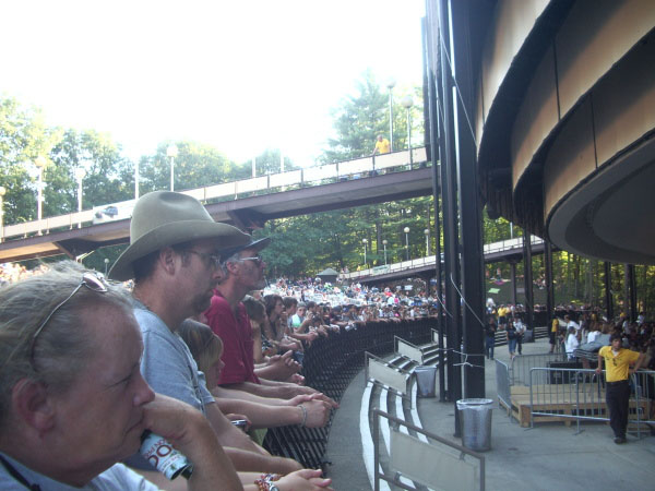 Bob Dylan concert Aug. 17, 2008 at SPAC