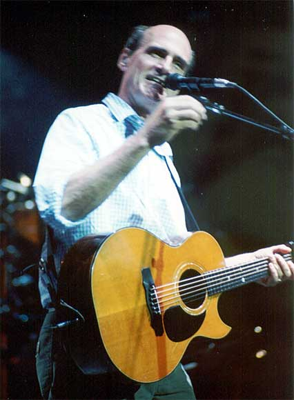 James Taylor Tanglewood concert June 24, 2003.