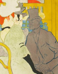 The Englishman at the Moulin Rouge, 1892, by Henri de Toulouse-Lautrec