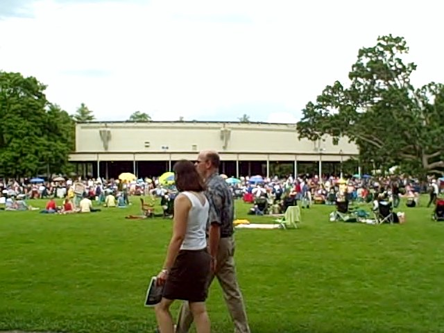 Koussevitsky Music Shed at Tanglewood