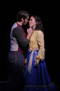Aaron Raney and Patricia Noonan in Carousel at Barrington Stage Co.
