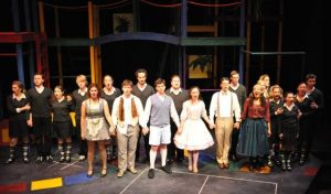 Cast of Candide at Berkshire Theatre Festival; Amie Conner photo.