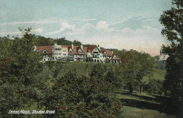 Shadowbrook, built 1893 by Anson Phelps Stokes, destroyed by fire 1956.