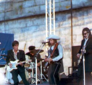 Bob Dylan at the Newport Folk Festival 2002