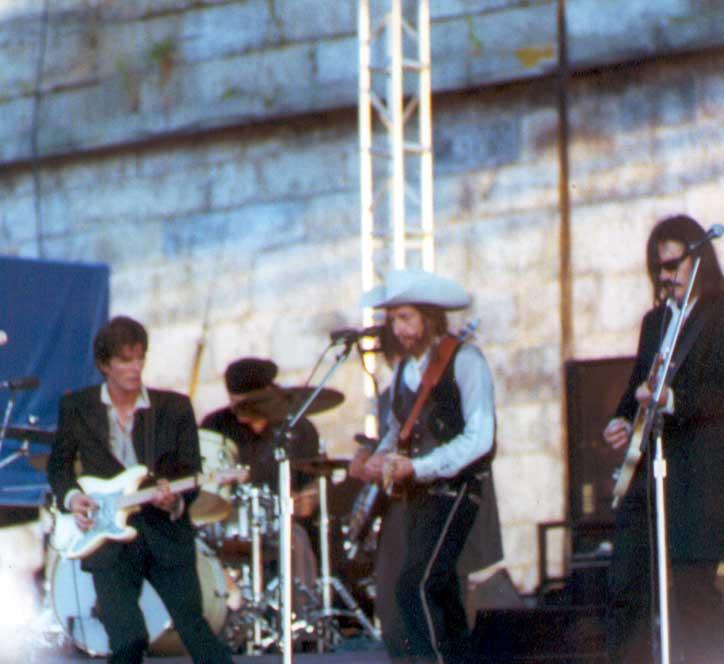 Bob Dylan at the Newport Folk Festival 2002