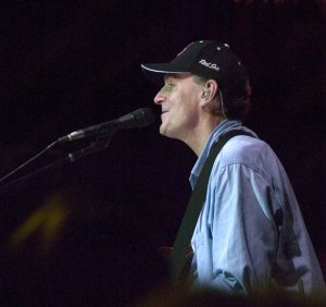 James Taylor in concert at Tanglewood