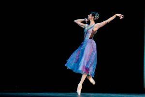Nina Ananiashvili, State Ballet of Georgia, in Bizet Variations; photo Kristi Pitsch