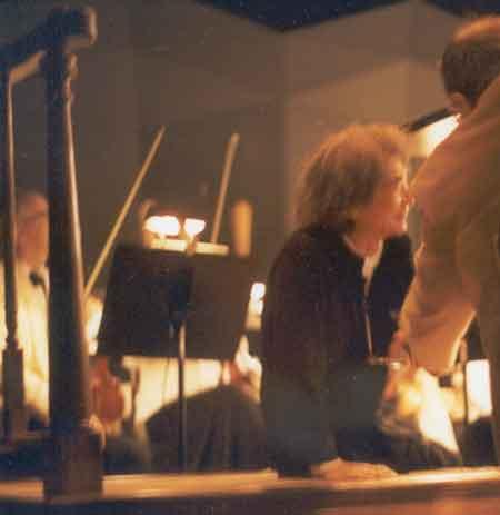 Seiji Ozawa after conducting Salome at Tanglewood, Aug. 4, 2001.