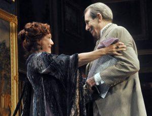 Jayne Atkinson and Richard Easton in The Guardsman at Berkshire Theatre Festival; photo Sarah Moazeni.
