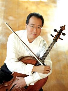 Yo-Yo Ma performs at Tanglewood frequently.