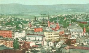Postcard view of North Adams, Mass. 1905