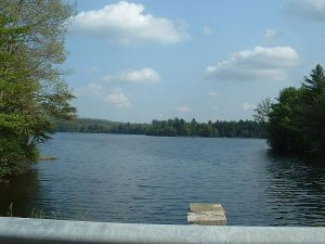 Ashmere Lake in Hinsdale, Mass.