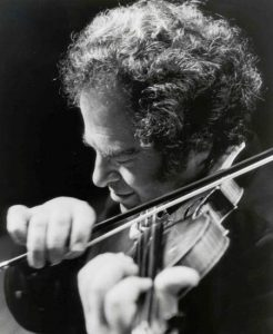 Itzhak Perlman conducts and solos at Tanglewood Aug. 27, 2011.