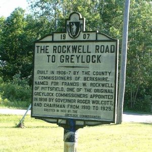 Rockwell Road to Mt. Greylock, Lanesborough, Mass.