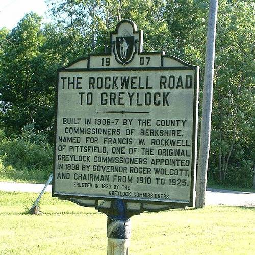 Rockwell Road to Mt. Greylock, Lanesborough, Mass.