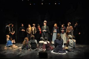 Cast of A Christmas Carol at Berkshire Theatre Festival; Photo by Jaime Davidson.
