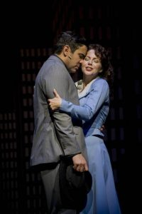 Matthew Risch and Morgan James in Guys and Dolls at Barrington Stage