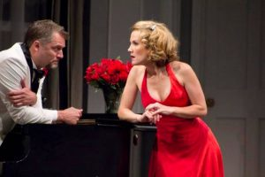 Stephen R. Buntrock and Erin Dilly in Berkshire Theatre Festival's production of In the Mood by Kathleen Clark; photo Christy Wright.