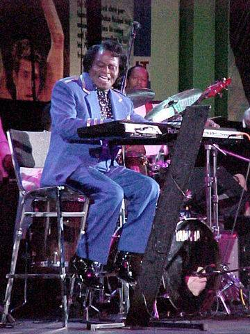 Music of James Brown celebrated in Nov. 18, 2011 concert at Colonial Theatre in Pittsfield, MA