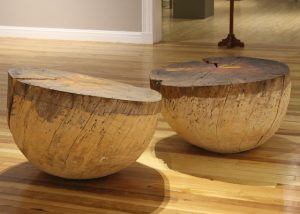 Wood Cups, 2010, Norway spruce, by Bryan Nash Gill
