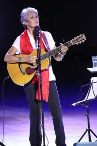 Joan Baez performed at Tanglewood on Sunday afternoon, 6.23.13