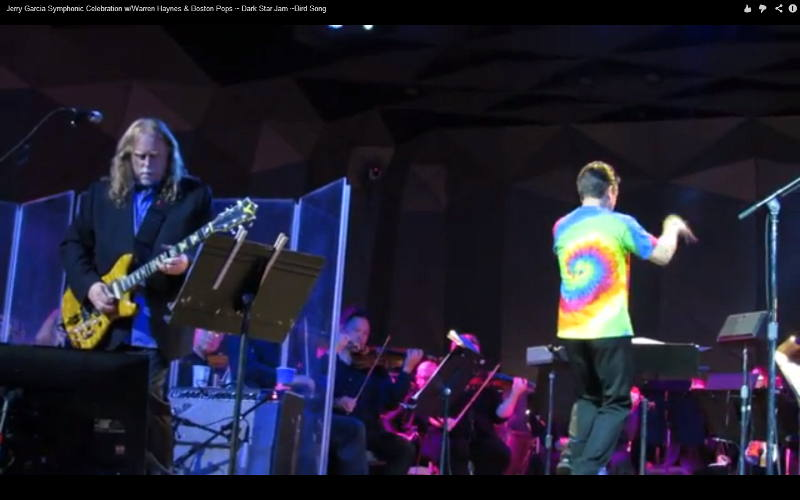 Warren Haynes, Keith Lockhart and the Boston Pops play music of Jerry Garcia
