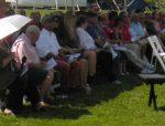 Gov. Deval Patrick celebrates Fourth of July in the Berkshires