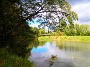 Housatonic River at Bartholomew's Cobble in the Berkshires