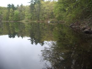 Upper Goose Pond, Appalachian Trail in the Berkshires