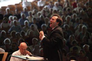 Andris Nelsons Conducts the Boston Symphony on July 15 2012; photo:Hilary Scott