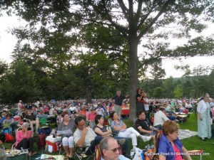 On the Lawn at Tanglewood June 28, 2014 A Prairie Home Companion