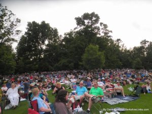 Tanglewood Lawn audience June 28, 2014 A Prairie Home Companion