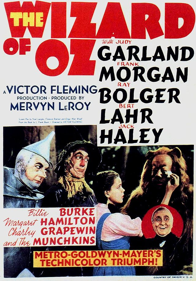 The Wizard of Oz was screened with the Boston Pops live orchestration at Tanglewood, Aug. 22, 2014.